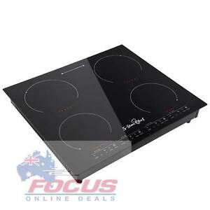 5 Star Chef Electric Induction Cooktop Ceramic 4 Burner Melbourne CBD Melbourne City Preview