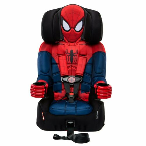 KidsEmbrace 2-in-1 Harness Booster Car Seat, Marvel Spider-Man     BRAND NEW