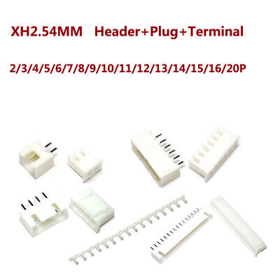 Xh2.54mm Headerplug And Jst Pcb Terminal Connector 2 Pin3 Pin4 Pin520pin