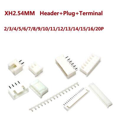 Xh2.54mm Headerplug And Jst Pcb Terminal Connector 2 Pin3 Pin4 Pin520pin