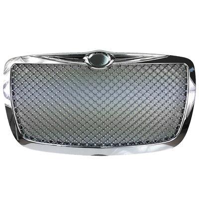 Calandre Sport Grill Grille Grille avant sans Emblème Chrome pour Chrysler 300c