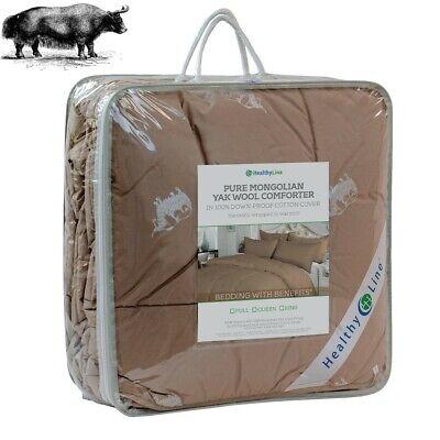 Eco-Friendly Luxurious Yak Wool Comforter Blanket Yak-Hair Duvet 450GSM NEW Eco Friendly Comforter
