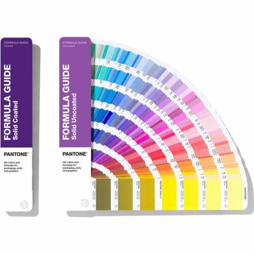 Pantone Formula Guides Solid Coated & Uncoated (GP1601A) **NEW 2020 Edition**