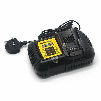 Rapid Battery charger for DEWALT 18V 4 AH XR LI-ION DCB115 FAST MULTI CHARGER