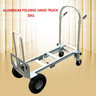 3 In 1 Trucks Lightweight 350kg Capacity Convertible Hand Truck And Dolly