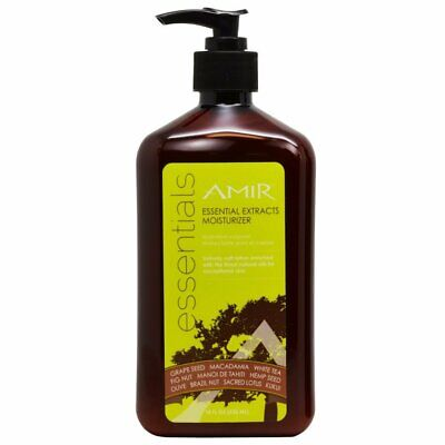 Amir Essentials 18oz Moisturizer Lotion with Essential Extracts *NEW*