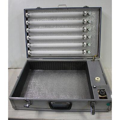Kaltglasiergeraet Aluminiumkoffer Epoxy-Material glasieren