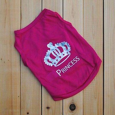 Pet Dog Cat Summer Hot Outfit Vest Costumes Coat Princess T-shirt - Hot Cat Costumes
