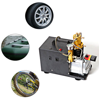 Upgraded 30mpa Air Compressor Pump Pcp Electric 4500psi High Pressure 2 Stage