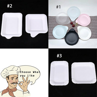 Deluxe Disposable Tableware Plastic/Paper Plates Party Ware BBQ High Quality - High Quality Paper Plates