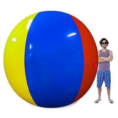The Beach Behemoth Giant Over Sized 24' Circumference Inflatable Beach Ball