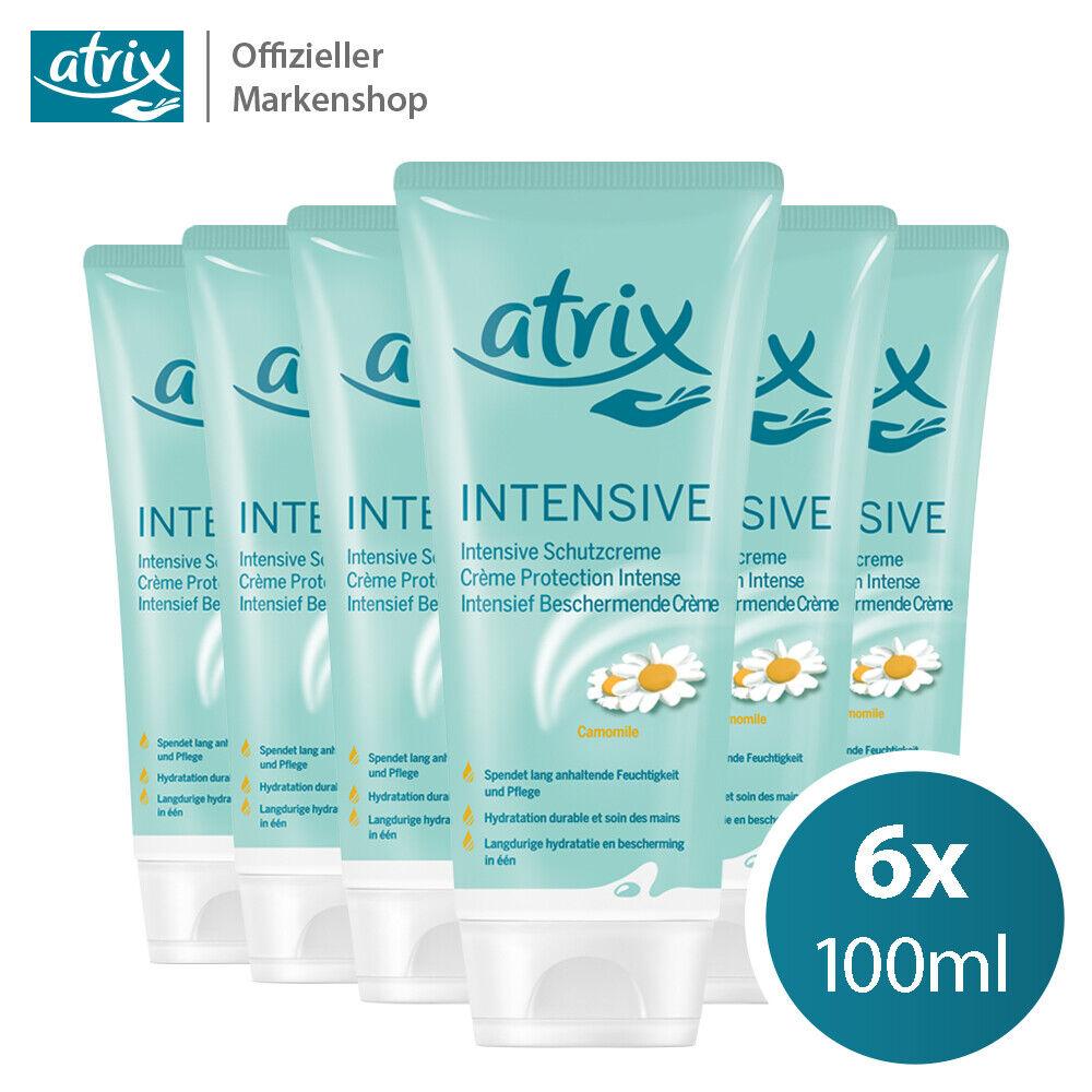 6x 100ml atrix intensive Handcreme Schutzcreme Feuchtigkeit & Pflege mit Kamille