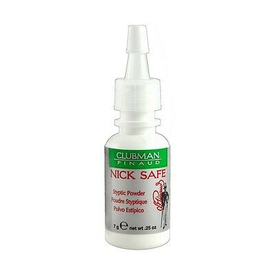 Clubman Nick Safe Styptic Powder 7G 0 25Oz