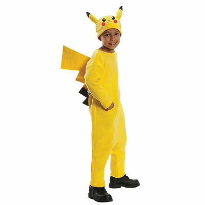 Rubies Pokemon Pikachu Child Boys Deluxe Ash Squirtle Halloween Costume 884779