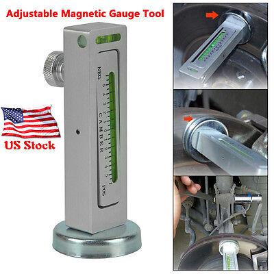 Professional Diy Magnetic Car Camber Castor Strut Wheel Alignment Gauge Tool Kit