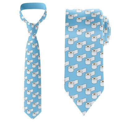 Toilet Paper Tie Funny Necktie Funny Necktie Tie