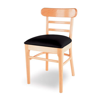 Ladderback Wood Dining Restaurant Chairs