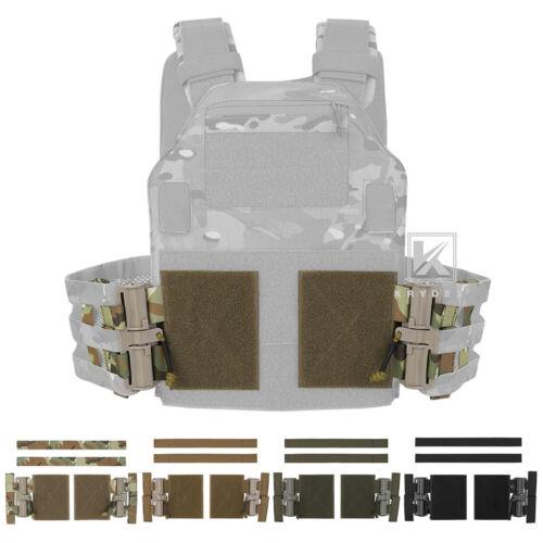KRYDEX MOLLE Quick Release Buckle Tube Cummerbund Adapter Kit for Plate Carrier