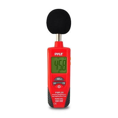 New Pyle Pspl25 Sound Level Meter With A And C Frequency Weighting