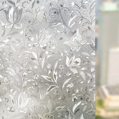 Frosted Privacy Glass Window Film Sticker Bedroom Bathroom Home Decor Waterproof Frosted Glass Window Film