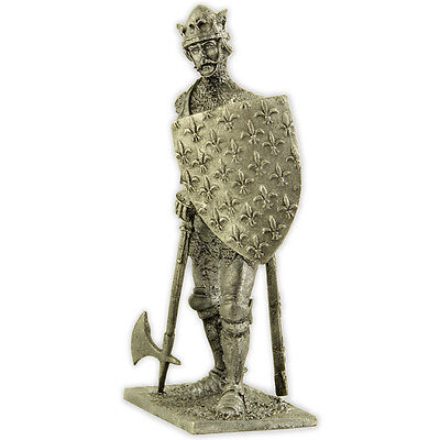 как выглядит John II The Good, 1356 year Tin toy soldiers miniature statue. metal sculpture фото