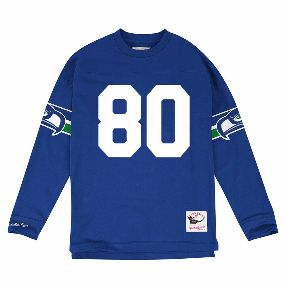 NFL HOF LEGENDS Long Sleeve MITCHELL & NESS Jersey Inspired Knit Top Collection