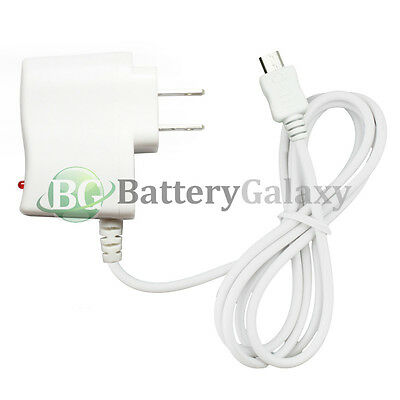 100 NEW Micro USB Battery Travel Home Wall AC Charger For Android Cell Phone HOT
