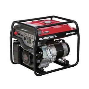 Honda EG6500 Generator - great backup power !! Power Event Sale $1999.00