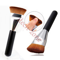 1pc Flat Large Fan Buffer Makeup Cosmetic Brush Foundation Blush Shades Blender - does not apply - ebay.co.uk
