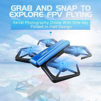 G-sensor Drone WIFI 720P HD Camera Foldable Altitude Hold RC Quadcopter Toys USA