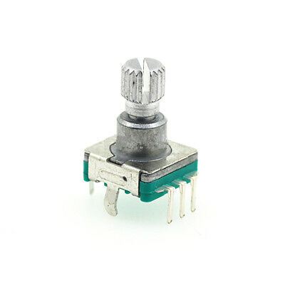 360 Degree Encoder Switch Shaft 6mm Potentiometer Car Dvd Volume Switch 1pcs