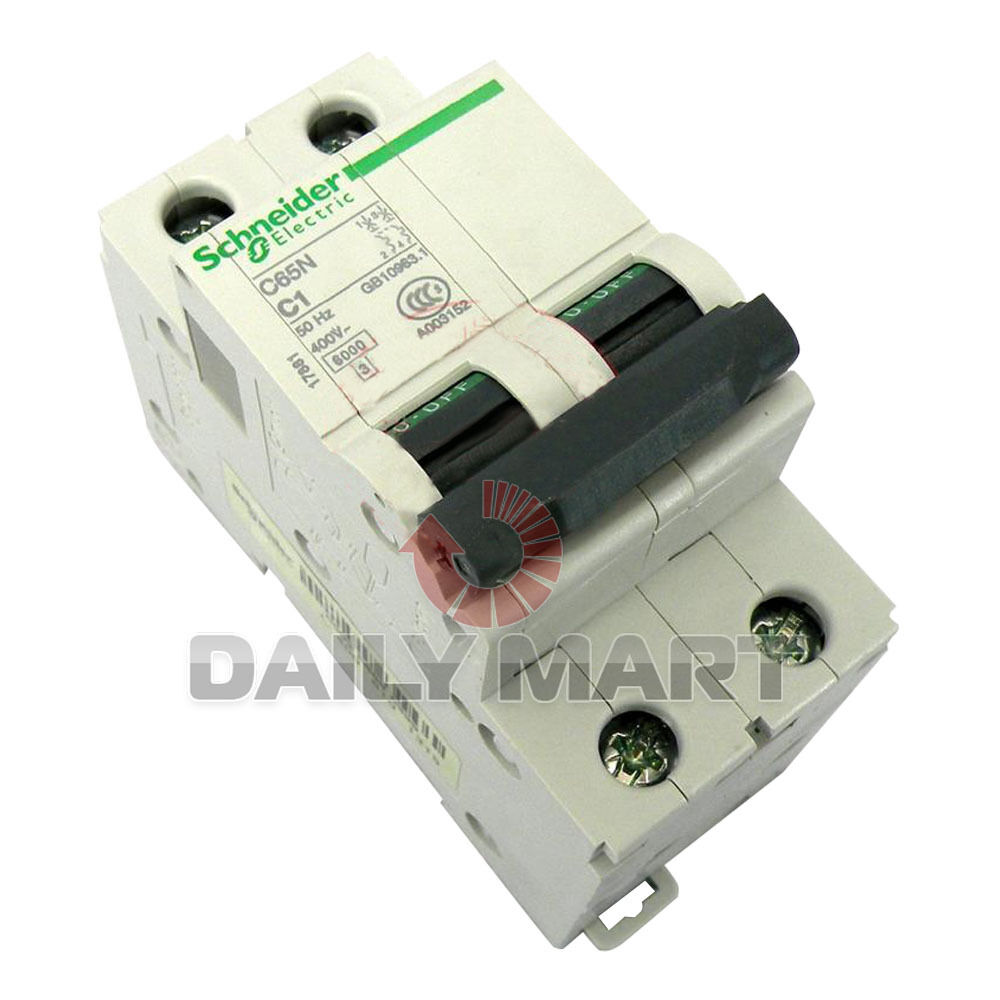 New Schneider C65n 2p C1a Module Miniature Circuit Breaker 3025 Off View 2 Of 3