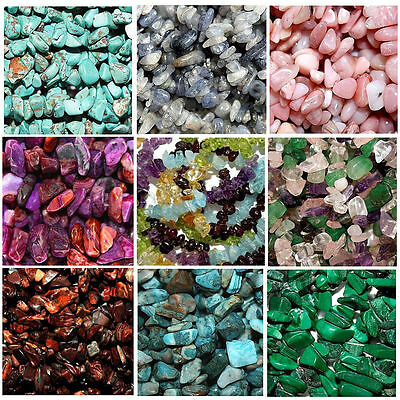 BEAD CHIPS GEMSTONE STONE BEADS CHIP STRANDS AGATE JASPER JADE ASSORTED STONES