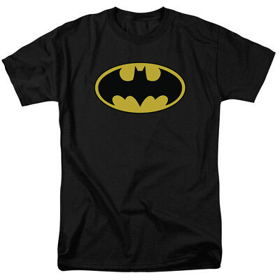 Batman For Adults (Batman Logo T shirt Officially Licensed for Men &)