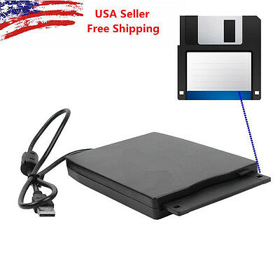 "New USB Portable External 3.5"" 1.44MB Floppy Disk Drive Diskette for PC Laptop"