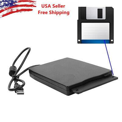 "Back to School Slim External USB 3.5"" 1.44MB Floppy Disk Drive Windows XP/7/iMac"