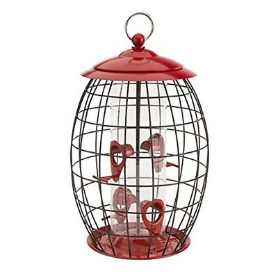 Squirrel-X Sweet Tweet Café Bird Feeder, Squirrel Proof, Four Feeding Stations