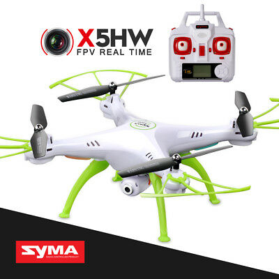 SYMA X5HW 2.4G 4CH 6 AXIS RC QUADCOPTER WIFI CAMERA DRONE HOVERING FPV REAL TIME