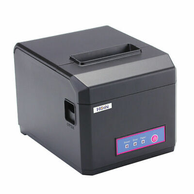 Hoin Thermal Receipt Printer 80mm 58mm Usb Lan Windows 300mms For Store Esc