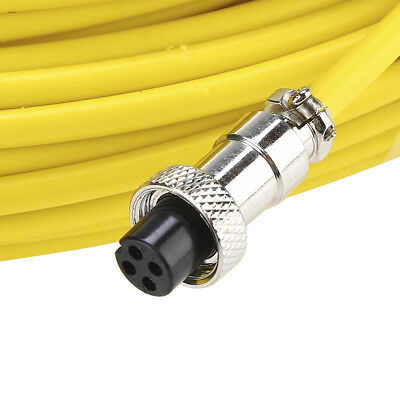 30m Inspection Tube Yellow Sewer Pipeline Inspection Camera Video Detector