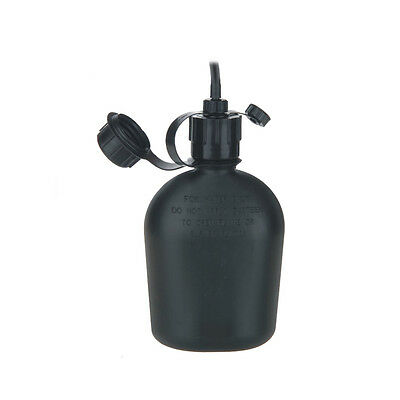 Gas Mask Canteen & Hose - Fits Israeli M15 and Civilian
