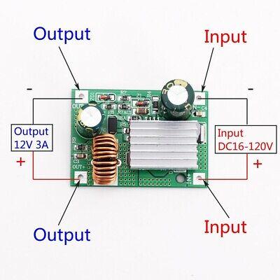 Dc 24v 36v 48v 72v 84v 120v To 12v 3a Step Down Power Supply Buck Converter