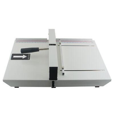 Manual Scoring Paper Creasing Machine Creaser Scorer Magetic Lock Office A4