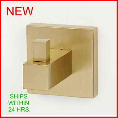 Alno Contemporary II Wall Mounted Single Bathroom Robe Hook R13 Contemporary Robe Hook