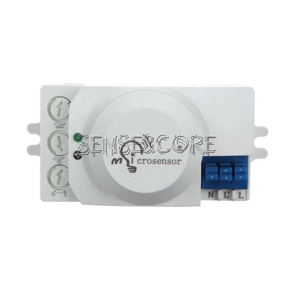 Mikrowellen Doppler Radar Bewegungsdetektor Sensor K9H5 Modul Brett RCWL 05 G4L3