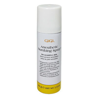 GiGi Anesthetic Numbing Spray 1.5oz / 45g