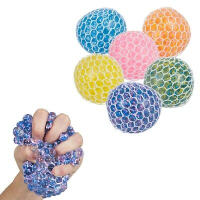 1 Squishy gel squeeze stress ball kids autism fidget ](Squishy Stress Balls)