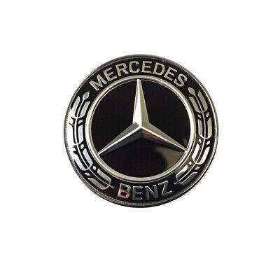 Mercedes Benz Original Emblem Schwarz Motorhaube Diverse Baureihen Neu OVP