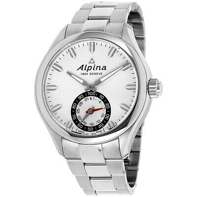 Alpina Horological Smartwatch Quartz Movement Silver Dial Mens Watch AL285S5AQ6B
