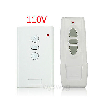 110V Projection Screen AC Device Wireless Remote Control UP Down Switch Button